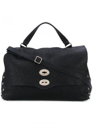Large Postina bag Zanellato. Цвет: синий