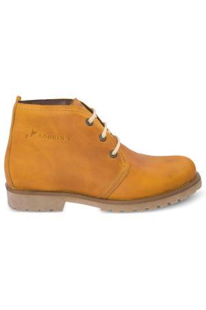 Ботинки Roobins. Цвет: оранжевый