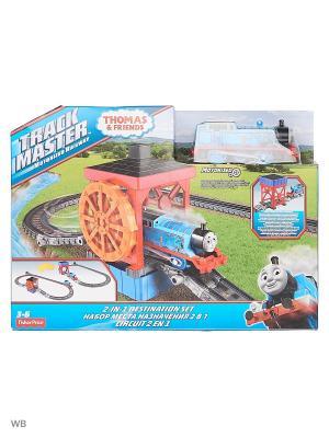 Томас и его друзья - Набор 2-в-1 Угольный бункер/Водяное колесо THOMAS & FRIENDS. Цвет: синий