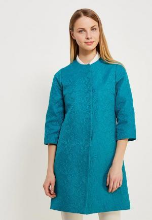 Пальто Grafinia. Цвет: зеленый