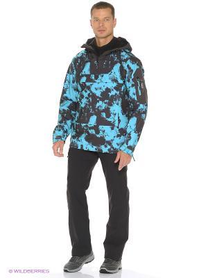 Куртка O'Neill. Цвет: голубой, хаки