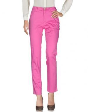 Повседневные брюки GAI MATTIOLO. Цвет: фуксия