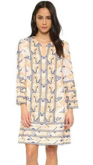 Мини-платье Aldo Antik Batik. Цвет: multico
