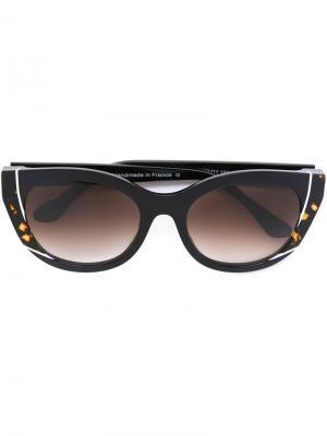 Солнцезащитные очки Nevermindy Thierry Lasry. Цвет: синий