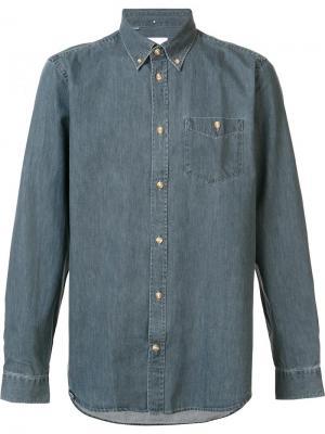 Рубашка Oke Wesc. Цвет: серый