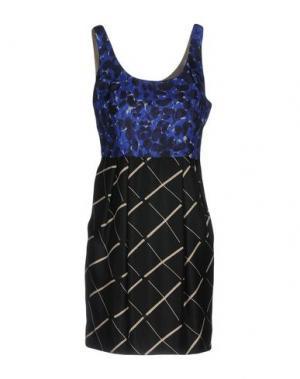 Короткое платье ALICE SAN DIEGO. Цвет: синий