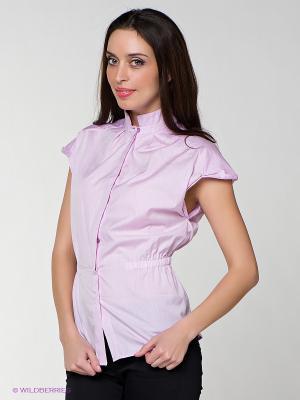 Блузка MONDIGO. Цвет: сиреневый