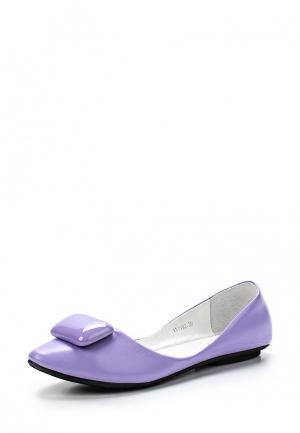 Балетки Vitacci. Цвет: фиолетовый