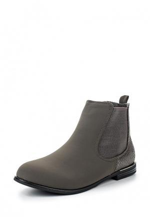 Ботинки TT. Цвет: серый