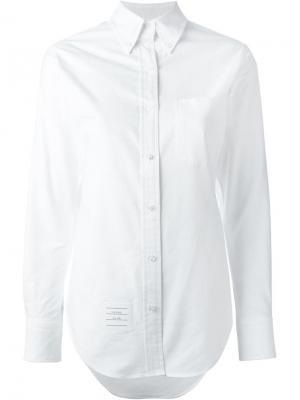 Классическая рубашка Thom Browne. Цвет: белый