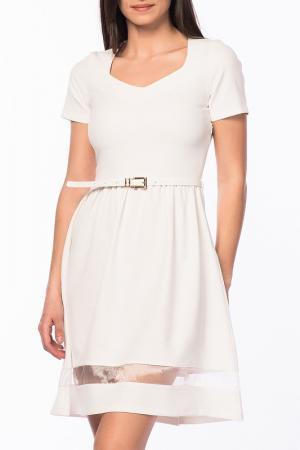 Платье Duse. Цвет: белый