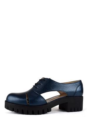 Туфли BERG. Цвет: лазурный