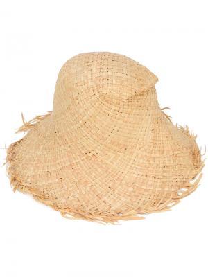 Летняя шляпа Paloma Barceló. Цвет: телесный