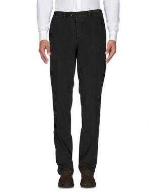 Повседневные брюки PIATTO. Цвет: темно-зеленый