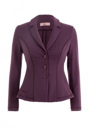 Жакет LO. Цвет: фиолетовый