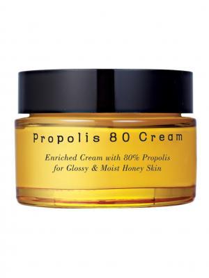 Увлажняющий крем с экстрактом прополиса PUREHEALS Propolis 80 Cream.. Цвет: желтый
