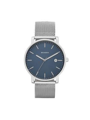 Часы SKAGEN. Цвет: синий, серебристый