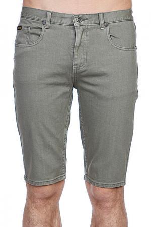 Джинсовые мужские шорты  Selma Short Grey Emerica. Цвет: серый
