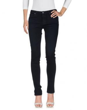 Джинсовые брюки AG ADRIANO GOLDSCHMIED. Цвет: темно-синий