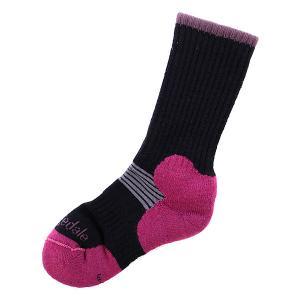 Носки средние женские  Cross Country Ski Black Bridgedale. Цвет: розовый,черный