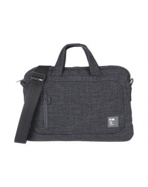 Деловые сумки NAVA. Цвет: стальной серый