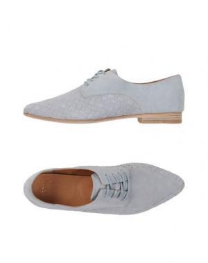 Обувь на шнурках AERIN. Цвет: светло-серый