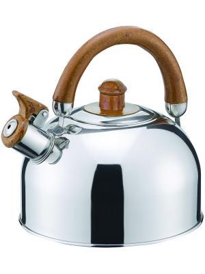 Чайник со свистком Bohmann BH-622. Цвет: светло-коричневый