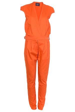 Комбинезон Irfe. Цвет: оранжевый