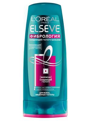 Бальзам-ополаскиватель для волос  Elseve, Фибрология , волос, лишенных густоты, 200 мл L'Oreal Paris. Цвет: белый