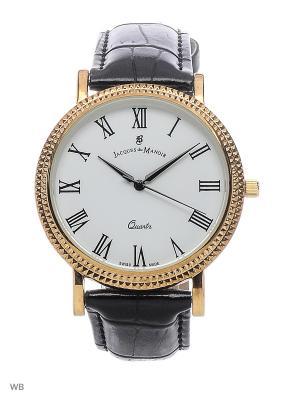 Часы Jacques du Manoir. Цвет: золотистый