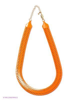 Колье Kawaii Factory. Цвет: оранжевый