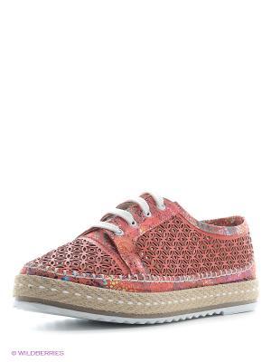 Ботинки Benta. Цвет: коралловый