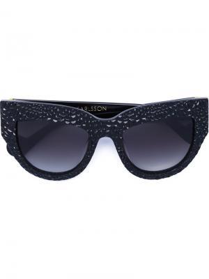 Солнцезащитные очки Lush Lily Anna Karin Karlsson. Цвет: чёрный