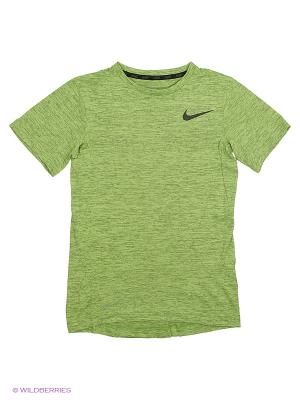 Футболка DF TRAINING SS TOP YTH Nike. Цвет: желтый