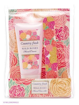Подарочный набор Wild Roses №2 Country Fresh. Цвет: белый