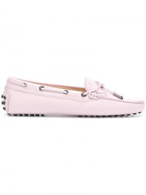 Gommino loafers Tods Tod's. Цвет: розовый и фиолетовый