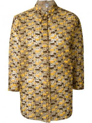 Рубашка с вышивкой Jupe By Jackie. Цвет: телесный