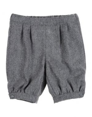 Повседневные брюки LA STUPENDERIA. Цвет: серый