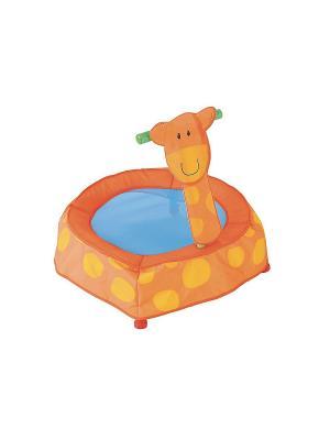 Батут для малышей Жираф ELC. Цвет: желтый, голубой