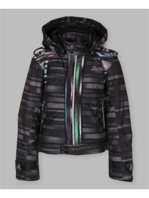 Куртка Arista. Цвет: черный