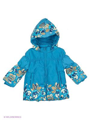 Куртка PELICAN. Цвет: голубой