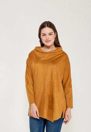 Туника Darissa Fashion. Цвет: коричневый