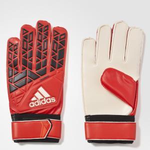Вратарские перчатки ACE Training  Performance adidas. Цвет: красный