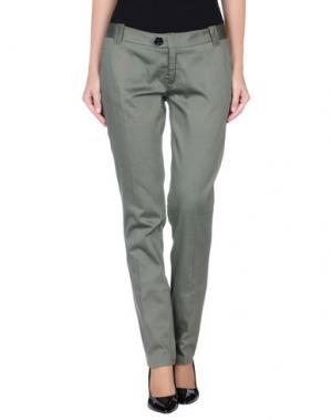 Повседневные брюки DEK'HER. Цвет: зеленый-милитари