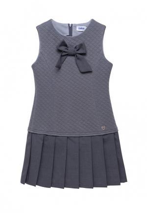 Платье Cookie. Цвет: серый