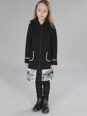 Пальто Милашка Сьюзи. Цвет: черный