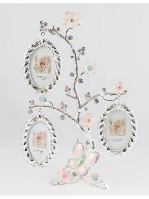 Фоторамка-дерево на 3 фото Русские подарки. Цвет: серебристый