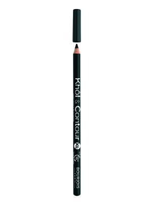 Контурный карандаш для макияжа глаз Khol & Contour New,  66 тон Bourjois. Цвет: серый