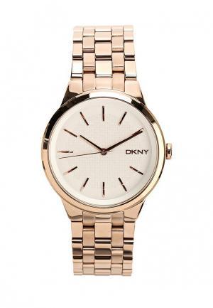 Часы DKNY. Цвет: бронзовый