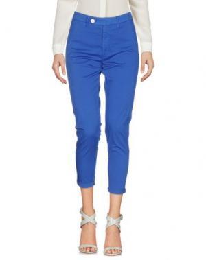 Повседневные брюки MAISON CLOCHARD. Цвет: ярко-синий